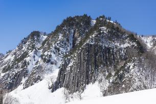 秋山郷布岩の写真素材 [FYI04677033]