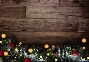 クリスマスのフレームと背景素材の写真素材 [FYI04677377]