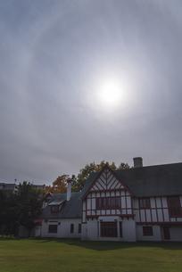 日暈の写真素材 [FYI04677999]