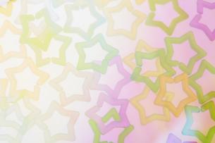 星の形をしたプラスチックのビーズの写真素材 [FYI04678052]