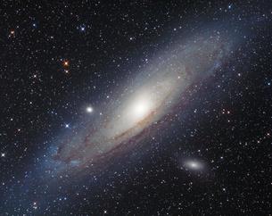 アンドロメダ大星雲の写真素材 [FYI04678085]