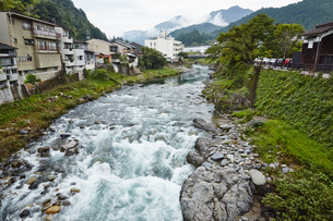 岐阜県、郡上八幡の写真素材 [FYI04679121]