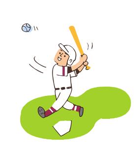 野球 バッターのイラスト素材 [FYI04679590]