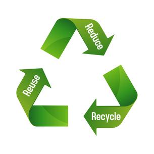 3R(recycle,reuse,reduce)・リサイクル・エコロジーイメージマークのイラスト素材 [FYI04679932]