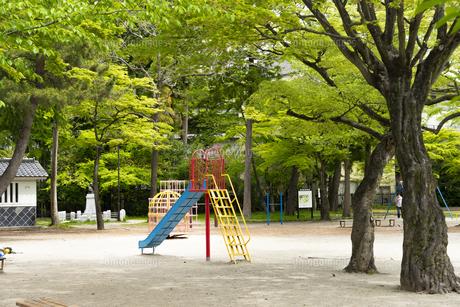 宮城県 勝山公園の写真素材 [FYI04680187]