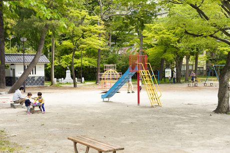 宮城県 勝山公園の写真素材 [FYI04680195]