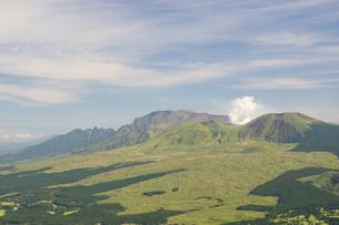 初秋の阿蘇五岳の写真素材 [FYI04680392]