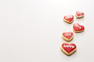 アイシングデコレーションしたクッキーの写真素材 [FYI04680474]