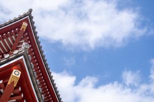 浅草神社の写真素材 [FYI04680637]