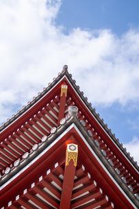 浅草神社の写真素材 [FYI04680638]