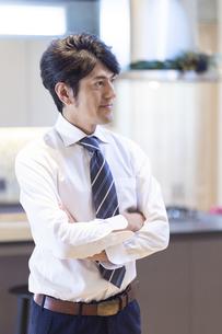ネクタイをした男性のポートレートの写真素材 [FYI04680994]