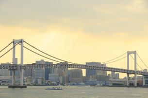 東京港のパノラマの写真素材 [FYI04681367]