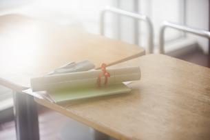 卒業証書の写真素材 [FYI04681431]