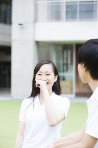 笑顔の女の子の写真素材 [FYI04681443]