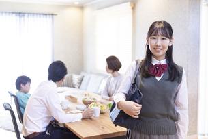 女子高生のポートレートの写真素材 [FYI04681545]
