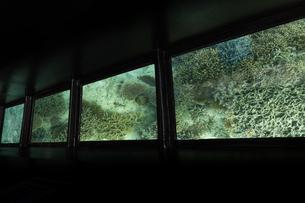 川平湾 グラスボートの写真素材 [FYI04681900]