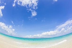石西礁湖の中心に位置する幻の島「浜島」の写真素材 [FYI04682000]
