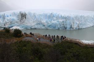 パタゴニアのペリト・モレノ氷河の写真素材 [FYI04682183]