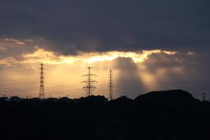 夕景の写真素材 [FYI04682701]
