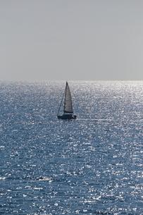 ヨットの写真素材 [FYI04683262]