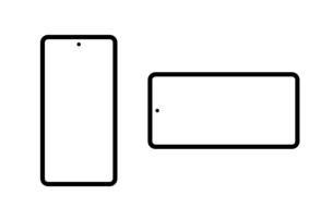 スマートフォン アイコンのイラスト素材 [FYI04683735]