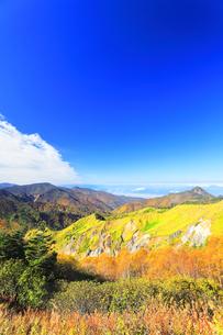 志賀高原の紅葉の写真素材 [FYI04684296]