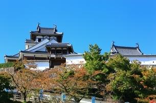 福知山城の写真素材 [FYI04684849]
