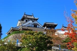 福知山城の写真素材 [FYI04684853]