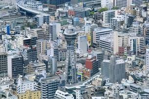 大阪の町並みの写真素材 [FYI04684886]
