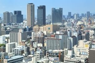 大阪の都市風景の写真素材 [FYI04684889]