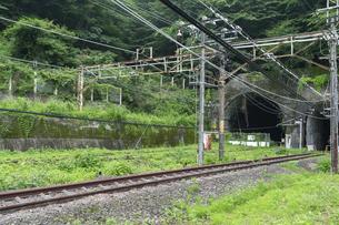 碓氷峠 旧熊ノ平駅の写真素材 [FYI04685199]