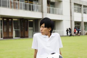 男子高校生の写真素材 [FYI04685311]