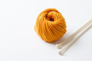 毛糸の写真素材 [FYI04685482]