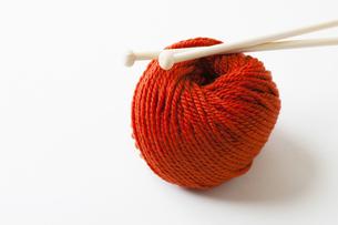 毛糸の写真素材 [FYI04685490]