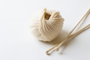 毛糸の写真素材 [FYI04685491]