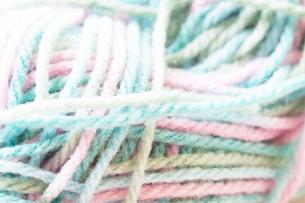 毛糸の写真素材 [FYI04685503]