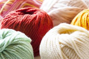 毛糸の写真素材 [FYI04685509]