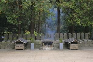 飯盛山の白虎隊十九士の墓の写真素材 [FYI04685705]
