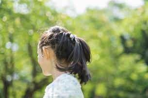 女の子 夏の写真素材 [FYI04686484]