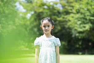 女の子 夏の写真素材 [FYI04686491]
