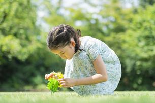 女の子 夏の写真素材 [FYI04686493]