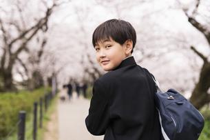 中学生 春の写真素材 [FYI04686538]