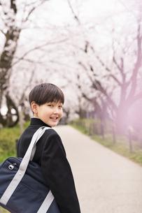 中学生 春の写真素材 [FYI04686539]