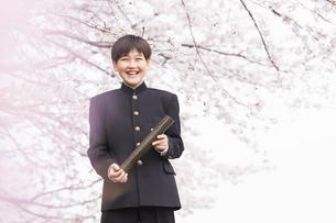 中学生 春の写真素材 [FYI04686598]