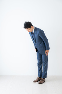 日本人ビジネスマンの写真素材 [FYI04687002]