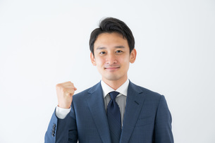 日本人ビジネスマンの写真素材 [FYI04687035]