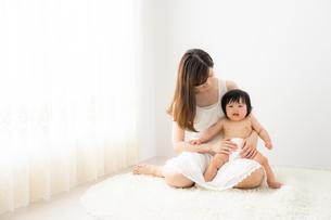母親と赤ちゃんの写真素材 [FYI04687262]