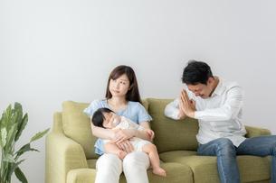 日本人家族の写真素材 [FYI04687398]