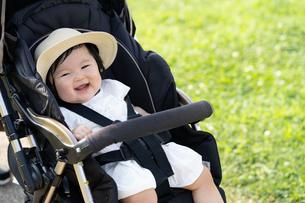 赤ちゃんの写真素材 [FYI04687482]