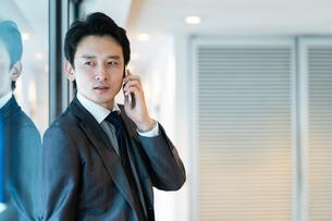 日本人ビジネスマンの写真素材 [FYI04687697]